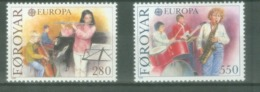 Føroyar 1985; Europa Cept, Michel 116-117.** (MNH) - Europa-CEPT