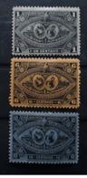 GUATEMALA 1897 , Exposition De L' Amérique Centrale, 3 Timbres Yvert No 62,64, 65 , Neufs * MH TB - Guatemala