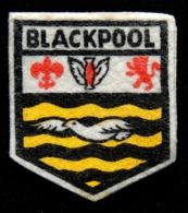 Patch Écusson Tissu Touristique : Angleterre - Blackpool - Blason - Ecussons Tissu