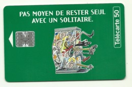 Francia - Tessera Telefonica Della Francia Da 50 Units - T636 - Giochi