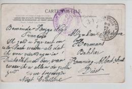 PR7268/ CP Liège 1833 C.PMB-BLP 1921 C.Mauve Cdt Militaire A.B.d'Occupation > Diest C.Facteur 3 - Poststempels/ Marcofilie