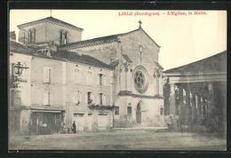 CPA Lisle, L`Eglise, La Halle - Unclassified