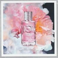 """Belle Carte Avec Patch Pour """"Joy"""" EdP Intense  13,5x13,5cm   R/V - Cartes Parfumées"""