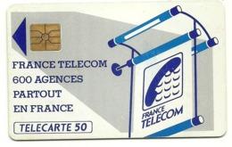 Francia - Tessera Telefonica Della Francia Da 50 Units - T637 - Advertising