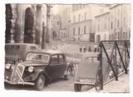 "AUTOMOBILE - AUTO - CAR - CITROEN "" TRACTION AVANT + 2 CV "" - FOTO ORIGINALE - Automobili"