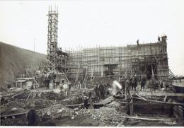 SA OUGREE-MARIHAYE - PHOTO 1925 (23 X 16 Cm) - Construction Accumulateurs à Minerais & à Charbon Par PIEUX  FRANKI - Lieux