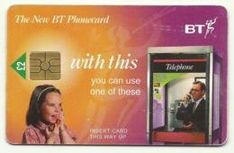 Gran Bretagna - Tessera Telefonica Della Gran Bretagna Da 2 Pounds - T640 - Telefone
