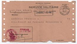 RF/Service Militaire/Titre De Libération Définitive Du Service Militaire/Gagneux/ VILLEJUIF/VERSAILLES /1965     VPN242 - Documents