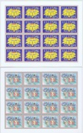Denmark; Local Christmas Seals - Elleore, 2001 & 2002, 2 Self-adhesive Full Sheets  MNH **, Not Folded, - Full Sheets & Multiples