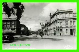 BOGOTA, COLOMBIE - AVENIDA DE LA REPUBLICA - ANIMATED CARS, TRAMWAY, PEOPLES - F. V. PRIETO - - Colombie
