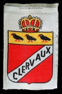 Patch Écusson Tissu Touristique : Duché Du Luxembourg - CLERVAUX - Blason - Ecussons Tissu