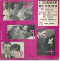 """45 Tours EP - 4 B.O. De Film """" CHARADE """" PAS DE LAURIERS POUR LES TUEURS """" LE CARDINAL """" TOM JONES """" ROMY SCHNEIDER - Musica Di Film"""