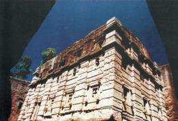 1 AK Äthiopien Ethiopia * Felsenkirche Bet Emmanuel In Lalibela - Erbaut Im 12. Jh. - Seit 1978 UNESCO Weltkulturerbe * - Äthiopien