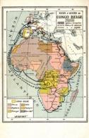 Thematiques Carte Voies D'accès Au Congo Belge Editeur Librairie Coloniale 41 Rue Franz Merjay Bruxelles - Belgian Congo - Other