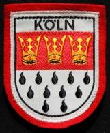 Patch Écusson Tissu Touristique : Allemagne - KÖLN - Cologne - Blason - Ecussons Tissu