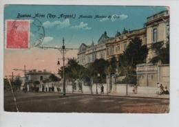 PR7271/ TP 5c CP Argentina B.A Written From La Plata 1913 Esperanto > Belgium Brussels Arrival Cancellation - Esperanto