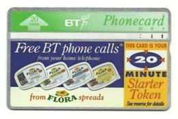 Gran Bretagna - Tessera Telefonica Della Gran Bretagna Da 20 Units - T642 - Pubblicitari