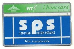 Gran Bretagna - Tessera Telefonica Della Gran Bretagna Da 20 Units - T643 - Scottish Prison Service - Polizia