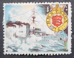 Great Britain 1916 Military Vignette HMS Essex - Cinderellas