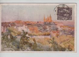 PR7272/ CP Abbaye Strahov Czecoslovakia C.Nusle 1920 Esperanto > Belgium Brussels - Esperanto