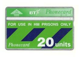Gran Bretagna - Tessera Telefonica Della Gran Bretagna Da 20 Units - T644 - H.M. Prison Only - Polizia