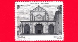 ITALIA - Usato - 2017 - Abbazia Di Casamari (FR) - 0.95 - 6. 1946-.. República