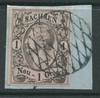 Sachsen 9  I Bfst. Vollgitter - Saxony
