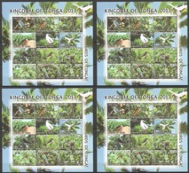 SS702 2013 KINGDOM OF TONGA FAUNA BIRDS 4SH !!! 30% OFF !!! MICHEL 212 EURO MNH - Oiseaux