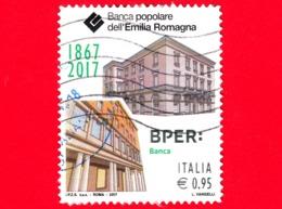 ITALIA - Usato - 2017 - 150 Anni Della Banca Popolare Dell'Emilia Romagna - BPER - Sedi - 0.95 - 6. 1946-.. República