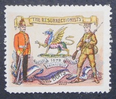 Great Britain 1916 Military Vignette The Buffs - Cinderellas