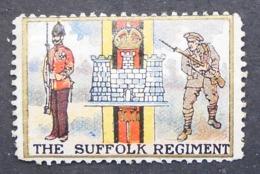 Great Britain 1916 Military Vignette The Suffolk Regiment - Cinderellas