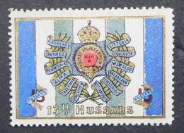 Great Britain 1916 Military Vignette 13th Hussars - Cinderellas