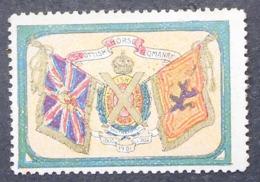 Great Britain 1916 Military Vignette Scottish Horse Yeomanry - Cinderellas