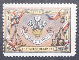 Great Britain 1916 Military Vignette The Welsh Regt - Cinderellas
