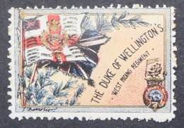 Great Britain 1916 Military Vignette The Duke Of Wellington's West Riding Regiment - Cinderellas