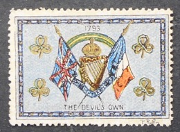Great Britain 1916 Military Vignette The Devil's Own - Cinderellas