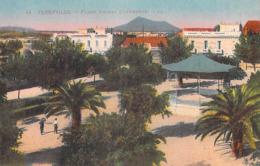 Tunisie (Menzel Bourguiba) FERRYVILLE Place Amiral Guepratte (kiosque)  (- Editions : LL 44)*PRIX FIXE - Túnez