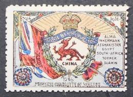 Great Britain 1916 Military Vignette Royal Berkshire Regt - Cinderellas