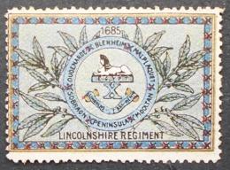 Great Britain 1916 Military VignetteLincolnshire Regiment - Cinderellas