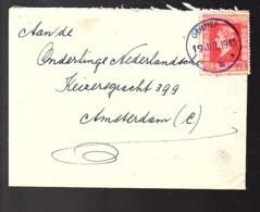 NOODSTEMPEL  Gennep 19.7.1945 (FG-66) - 1891-1948 (Wilhelmine)