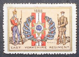 Great Britain 1916 Military Vignette East Yorkshire Regiment - Cinderellas
