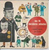 """45 Tours EP - B.O. Du Film """" LES 10 DERNIERES MINUTES """" RAYMOND SOUPLEX Et JEAN VALTON - Musica Di Film"""
