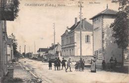 71 - Chaudenay - La Mairie - Belle Animation D'Enfants - France