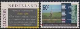 Netherlands 1986 Scott 676 677 MNH, Penal Code, Amsterdam - Neufs