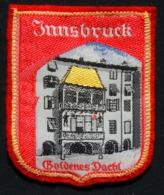 Patch Écusson Tissu Touristique : Autriche - Innsbruck - Le Petit Toit D'Or - Ecussons Tissu