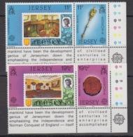 Europa Cept 1983 Jersey 4v (corners) ** Mnh (44835L) - 1983