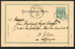 1902 Austria Stationery Postcard. Wien Wagner Music - St Gilgen - 1850-1918 Empire