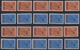 Europa Cept 1965 Netherlands 2v (10x)** Mnh (44837) - Europa-CEPT