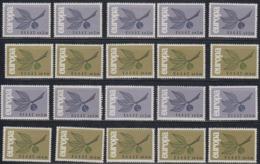 Europa Cept 1965 Greece  2v (10x) ** Mnh (44839) - Europa-CEPT