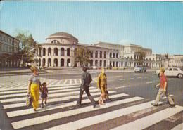 82787- WARSAW- BANK SQUARE FORMER DZIERZYNSKI'S SQUARE, CAR - Pologne